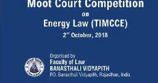 2018 Energy Law TILA MOOT COURT COMPETITION in India